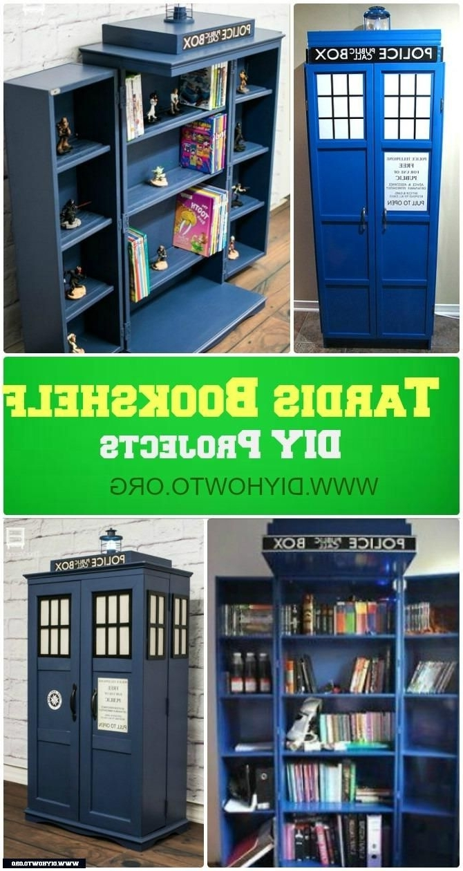 Most Up To Date Tardis Bookshelf My Friend's Dad Built (View 8 of 15)