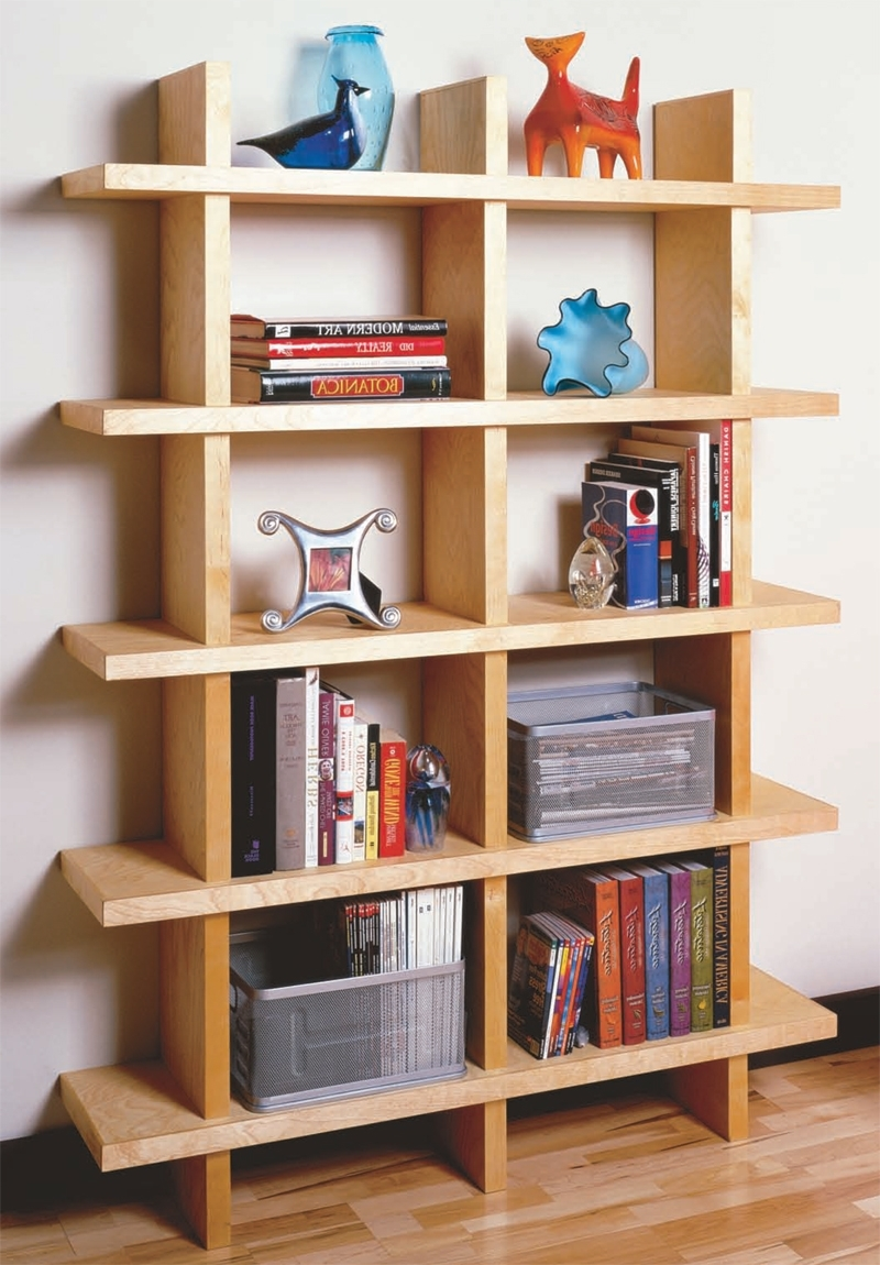 Most Up To Date Unique Bookcases Designs In Aw Extra – Contemporary Bookcase – Popular Woodworking Magazine (View 8 of 15)