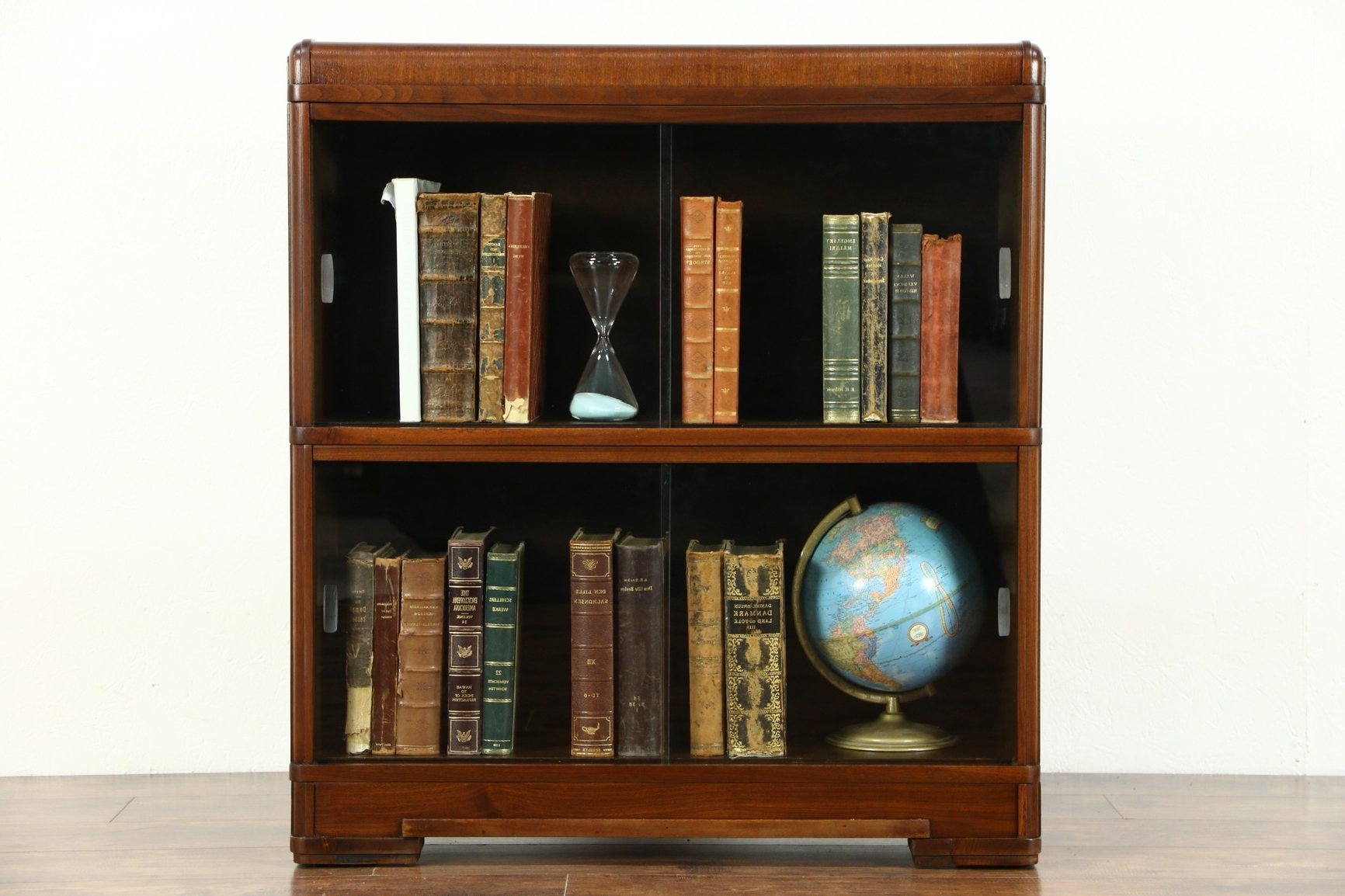 Most Up To Date Vintage Bookcases Throughout Sold Bookcases, Library Cabinet – Harp Gallery Antiques (View 7 of 15)