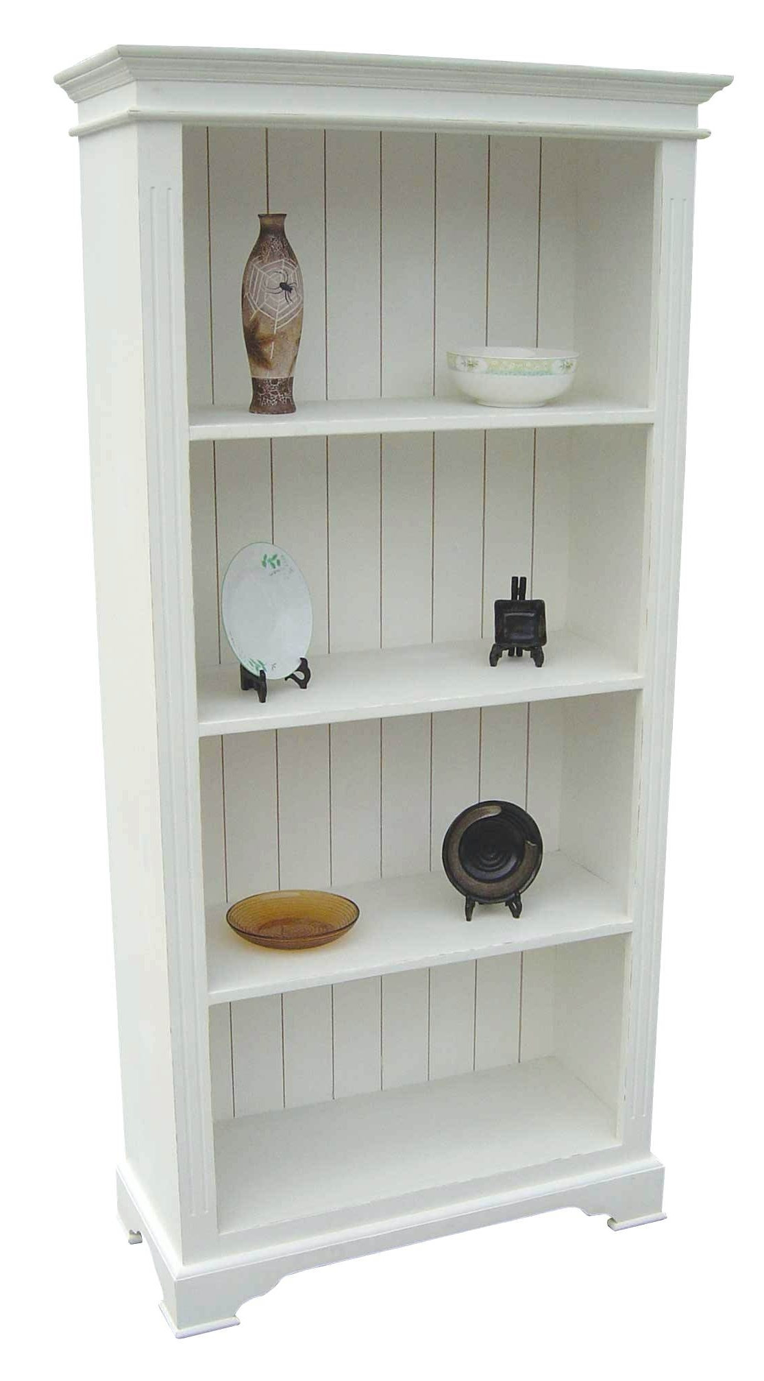 Most Up To Date White Painted Bookcases For Painted Bookcases – Neaucomic (View 3 of 15)