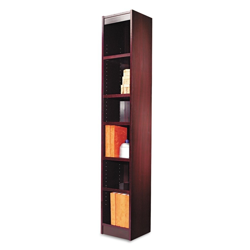 Narrow Bookcase With Doors Bookcases For Small Spaces Glass Tall In Current Thin Bookcases (View 10 of 15)