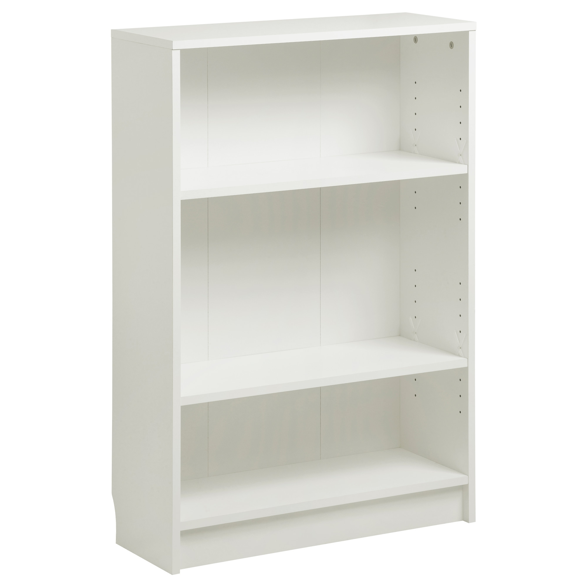 Narrow Depth Bookcase Avdala Ikea Bookcases Wood And Metal Plans Regarding Widely Used Narrow White Bookcases (View 15 of 15)