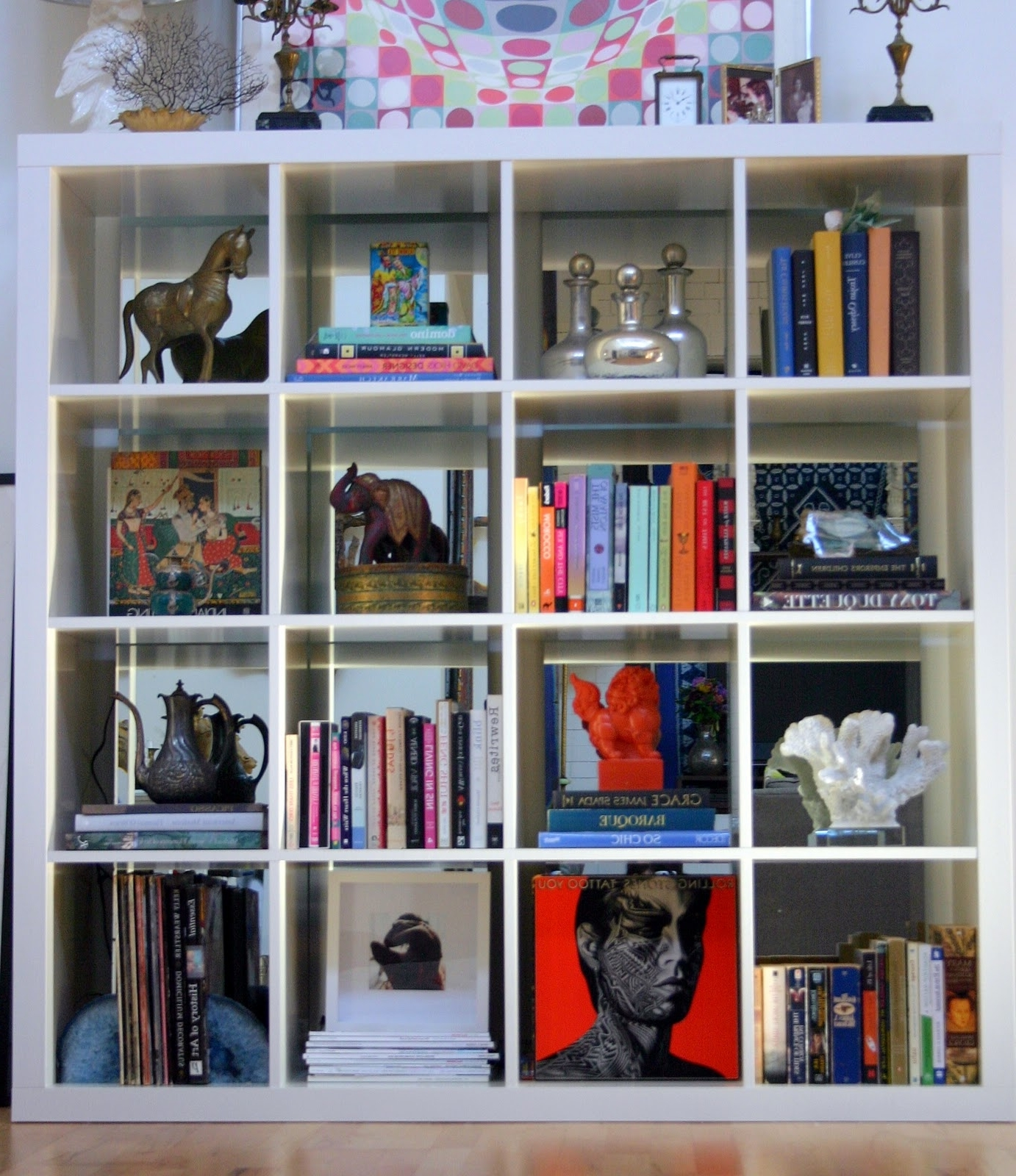 New Apartment Reveal: The Bookcase – Design Manifestdesign Manifest For Most Up To Date Mirrored Bookcases (View 14 of 15)