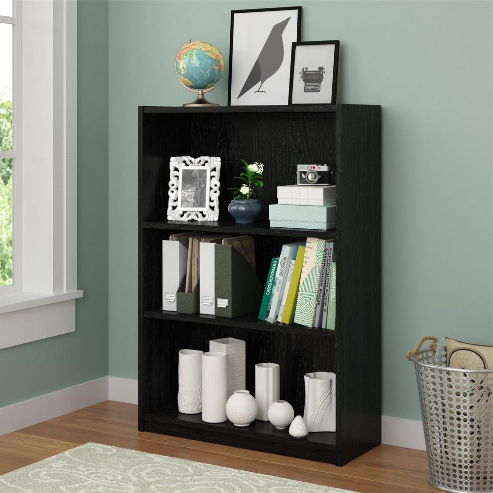 Newest Ameriwood 3 Shelf Bookcases Regarding Altra Furniture Core Bank Alder Open Bookcase 9424301Pcom – The (View 12 of 15)