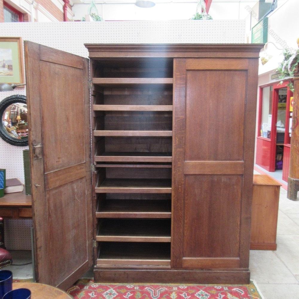 Newest Antique Oak Linen Press Cupboard – Antiques Atlas Throughout Oak Linen Cupboard (View 15 of 15)