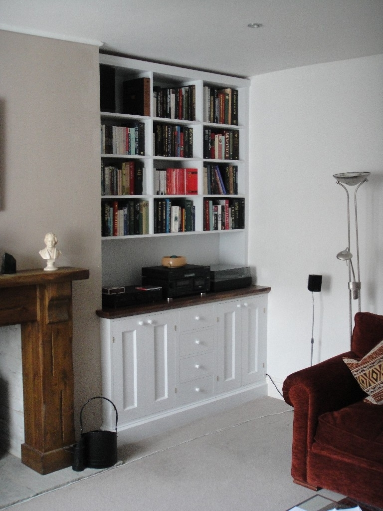 Newest Baby Nursery ~ Fascinating Bespoke Fitted Solid Walnut Cabinets With Fitted Cabinets (View 15 of 15)