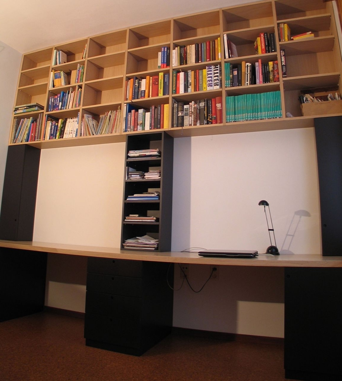 Newest Bookcases Ideas: Desk Bookcase Combo Simple Design Bookcase With Throughout High Quality Bookcases (View 13 of 15)