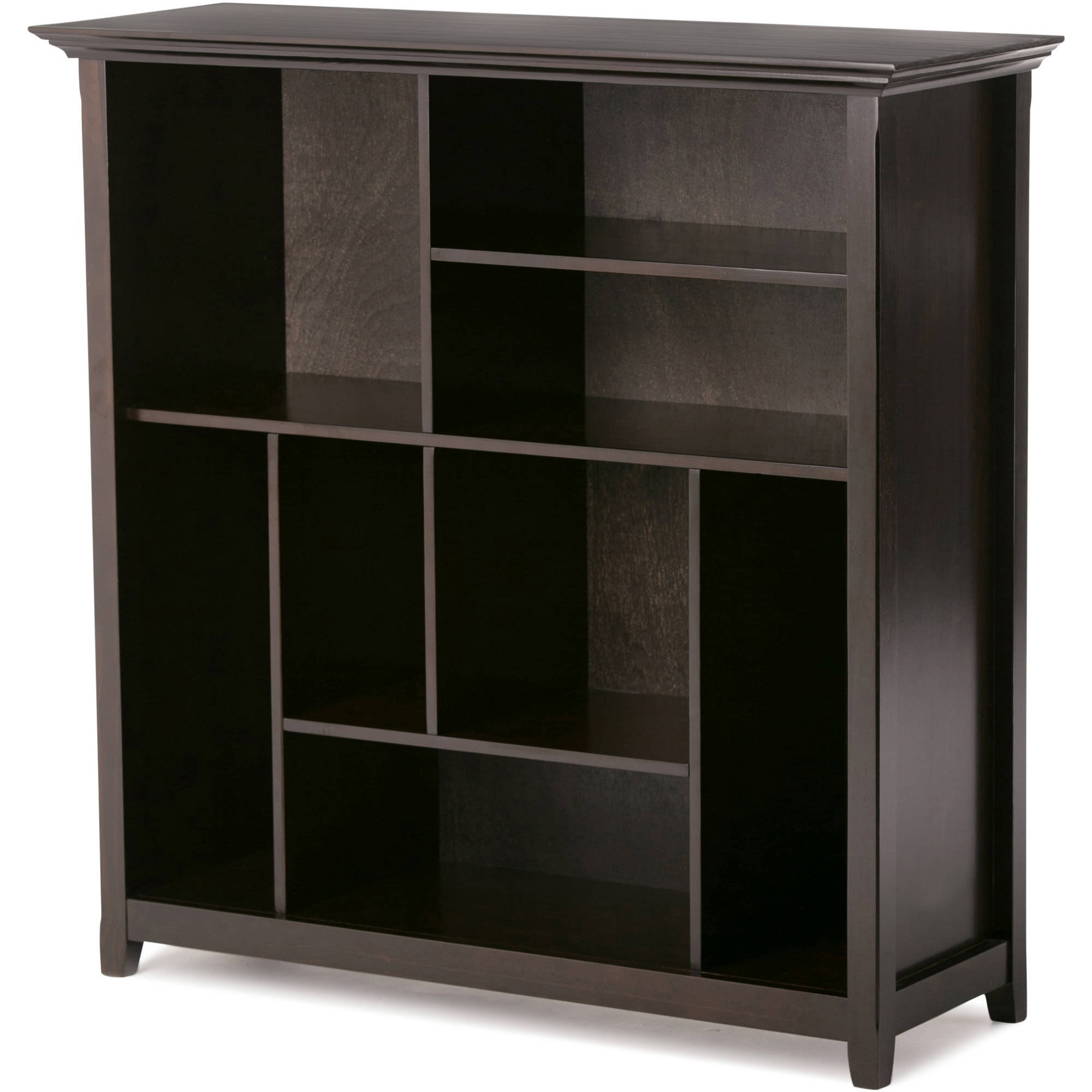 Newest Cube Bookcases Regarding Simpli Home Amherst Multi Cube Bookcase & Storage Unit – Walmart (View 13 of 15)