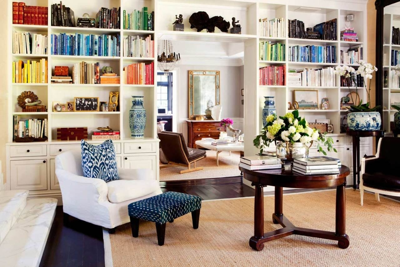 Newest Family Room Bookcase Ideas Built In Bookcases Around Fireplace In Family Room Bookcases (View 3 of 15)