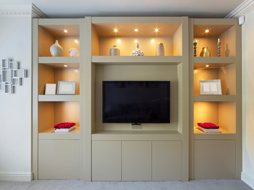 Featured Photo of Living Room Fitted Cabinets