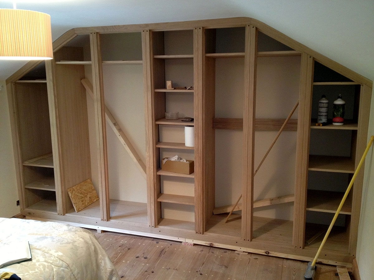 Newest Fitted Wardrobes, Norwich – The Norfolk Carpenter Within Solid Wood Built In Wardrobes (View 5 of 15)