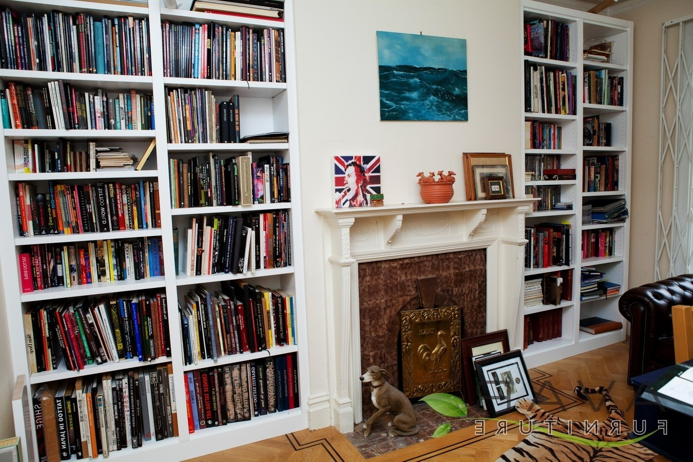 Newest Furniture Home: Furniture Home Bookcase Made To Measure Fitted With Fitted Book Shelves (View 12 of 15)