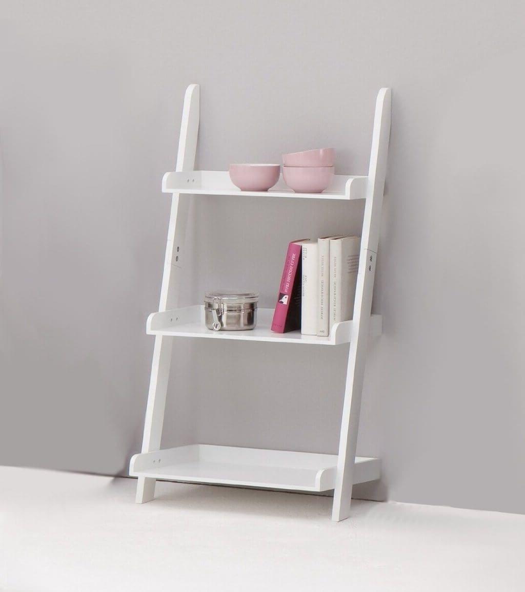 Newest Furniture: White Ladder Bookcase – 3 – White Ladder Bookcase In White Ladder Shelf (View 6 of 15)