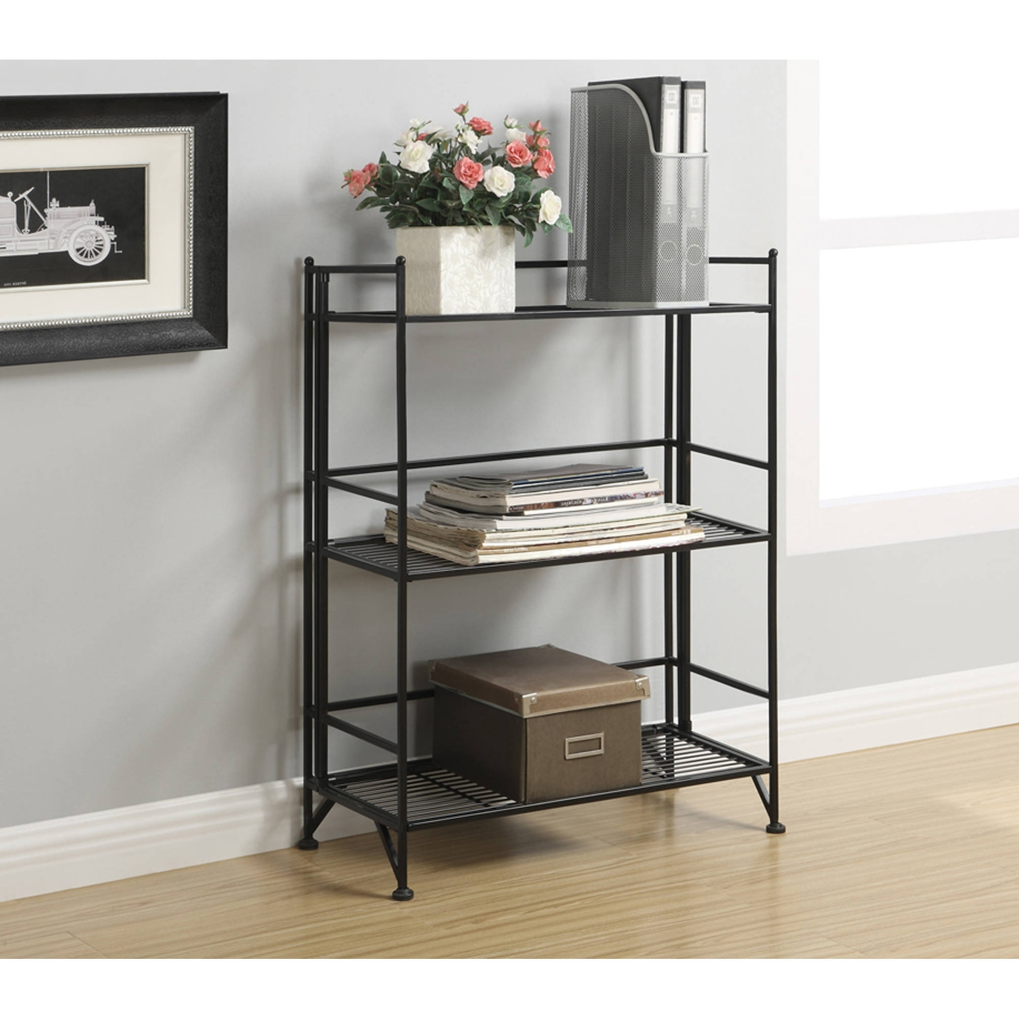 Newest Ideas Collection 2 Shelf Bookcase Metal Thesecretconsul With Small With Regard To Small Walmart Bookcases (View 8 of 15)