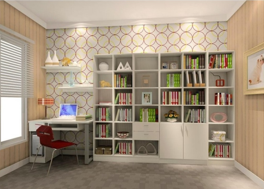 Newest Others : Awesome Study Room Design Ideas For Your Inspirations Throughout Study Room Cupboard Design (View 5 of 15)