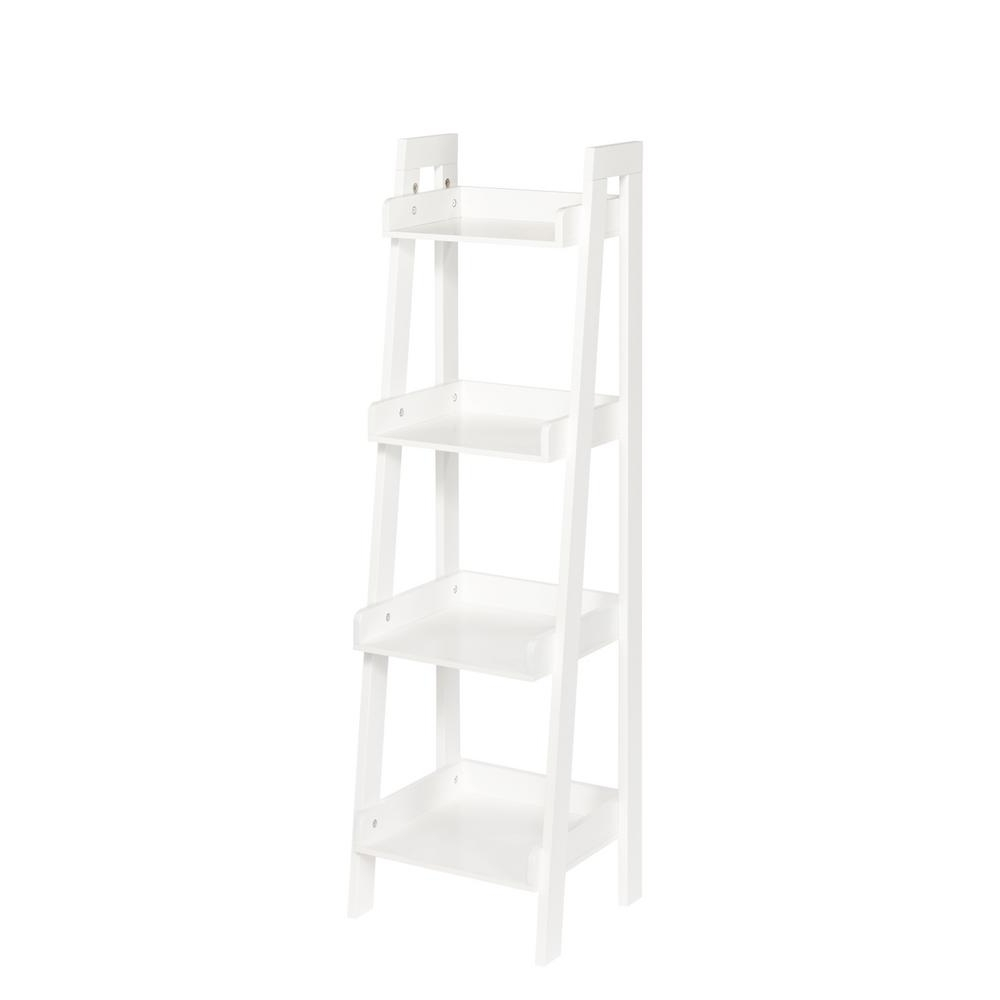 Featured Photo of White Ladder Shelf