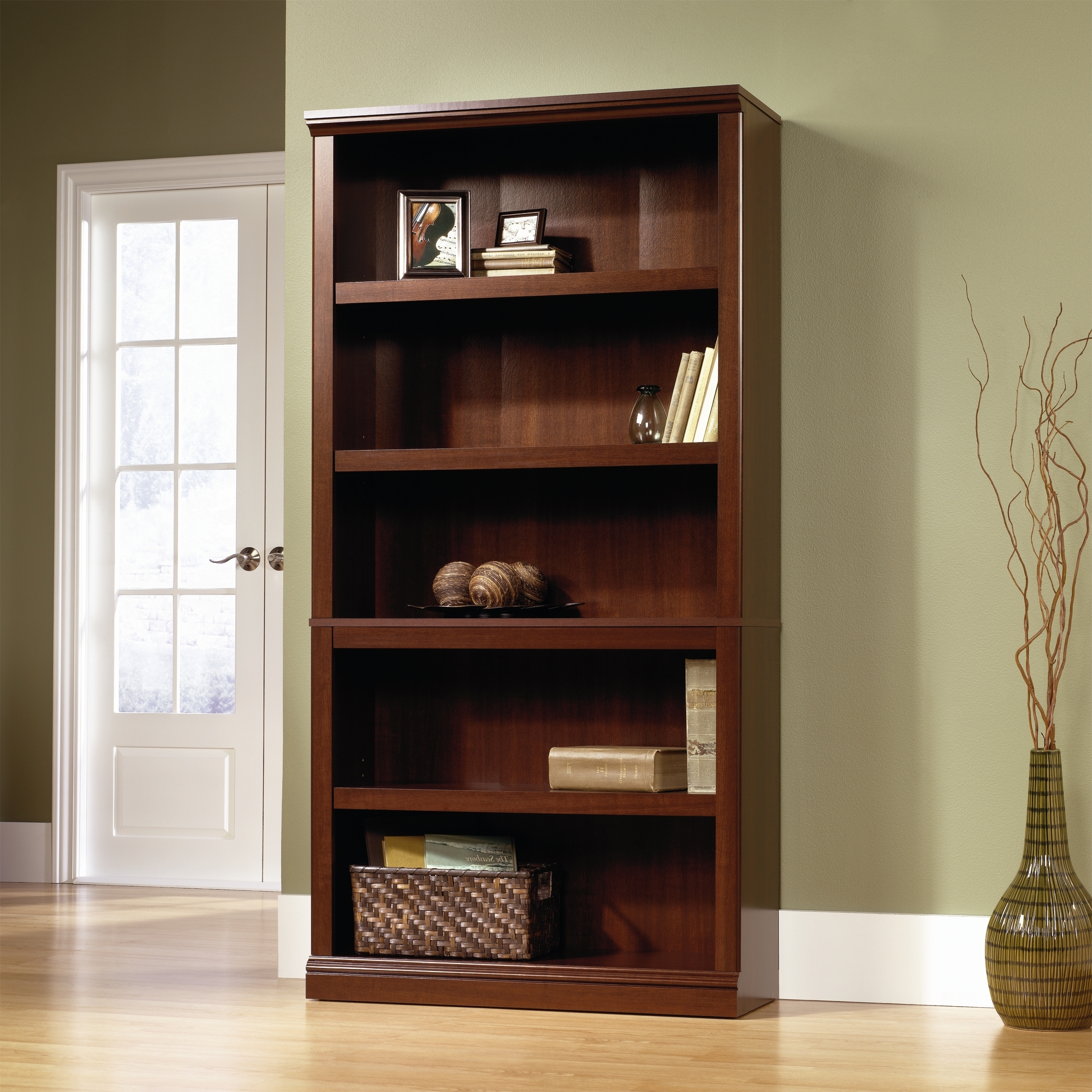 Newest Saunders Bookcases In Sauder Bookcases – Walmart (View 8 of 15)