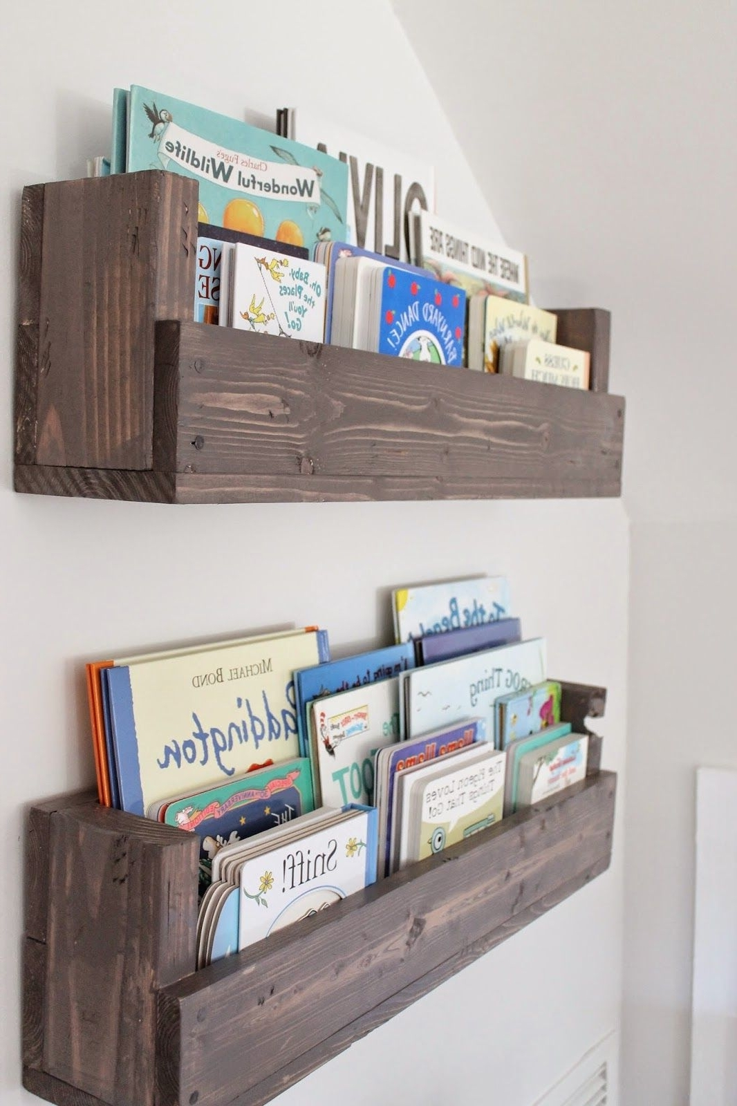 Newest See How Caitlin From The Picket Fence Projects Whipped Up These With Hanging Bookcases (View 11 of 15)