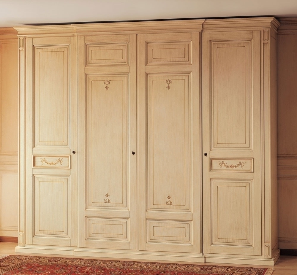 Newest Solid Wood Wardrobes Closets With Regard To Wood Wardrobe Closet Furniture — Thenextgen Furnitures (View 6 of 15)