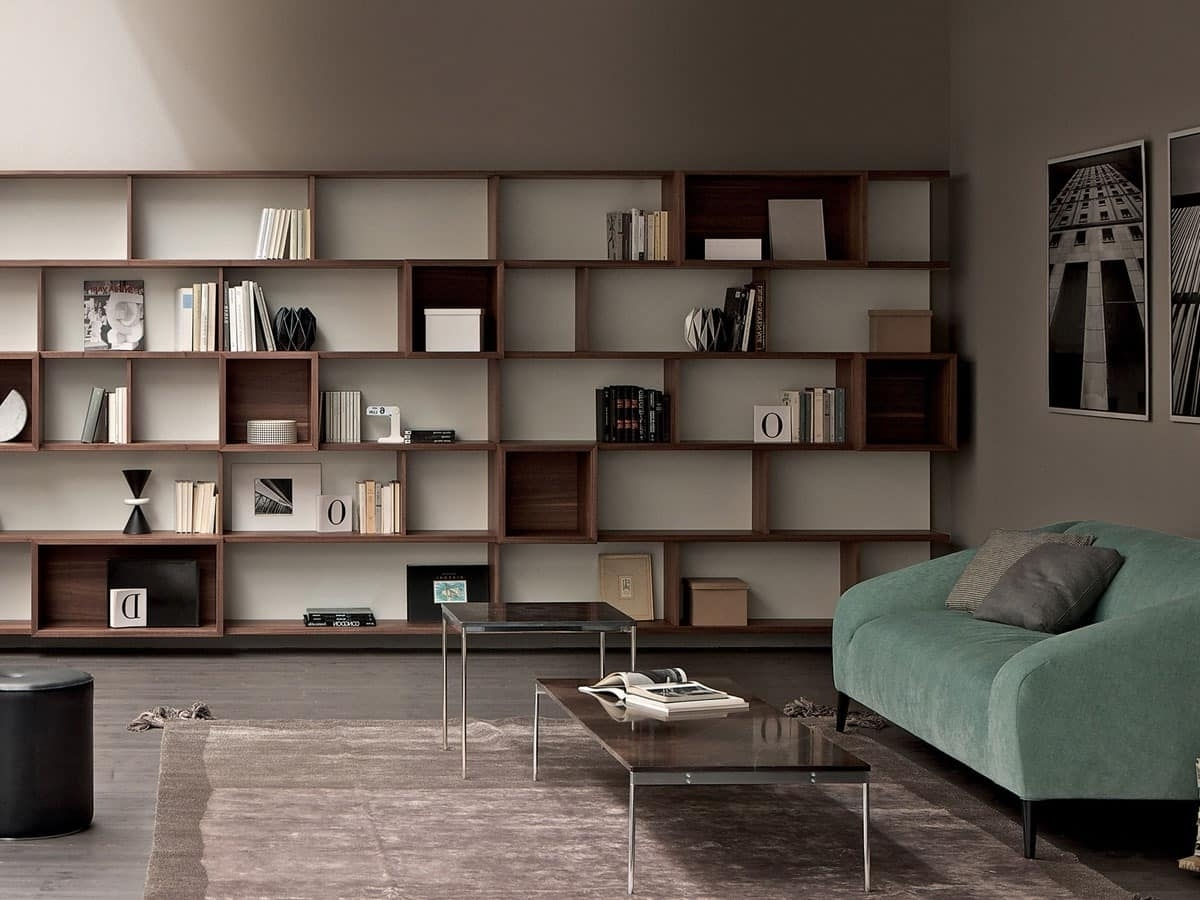 Newest Storage Wall, Modular Bookcase For Home And Office (View 6 of 15)