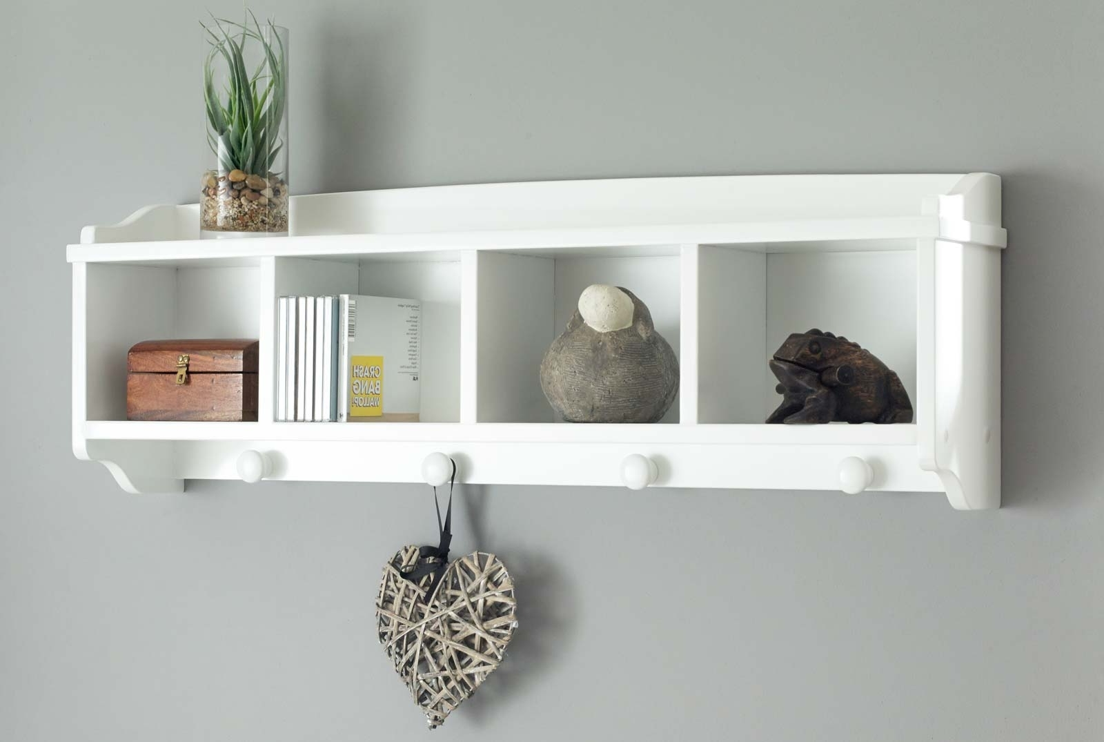 Newest White Wall Shelves With Drawers • Drawer Ideas With White Wall Shelves (View 10 of 15)