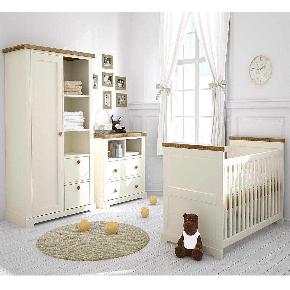 Nursery Furniture Set Room : Having Good Nursery Furniture Set Throughout 2017 Double Rail Nursery Wardrobes (View 9 of 15)