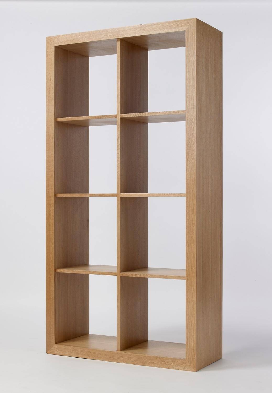 Oak Bookshelves Throughout Famous Furniture Home: Cube Bookcase Unique Picture Design Kallax Shelf (View 14 of 15)