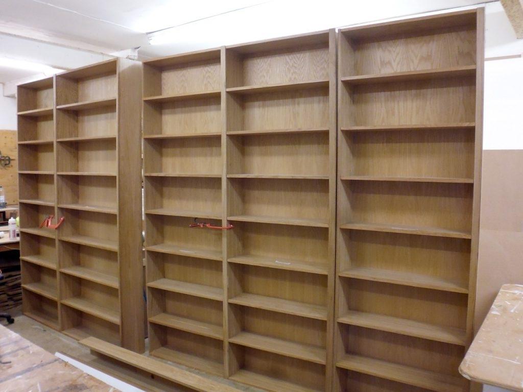 Oak Bookshelves With Well Known Oak Bookshelves – Richard Sothcott Brighton Carpentry (View 4 of 15)