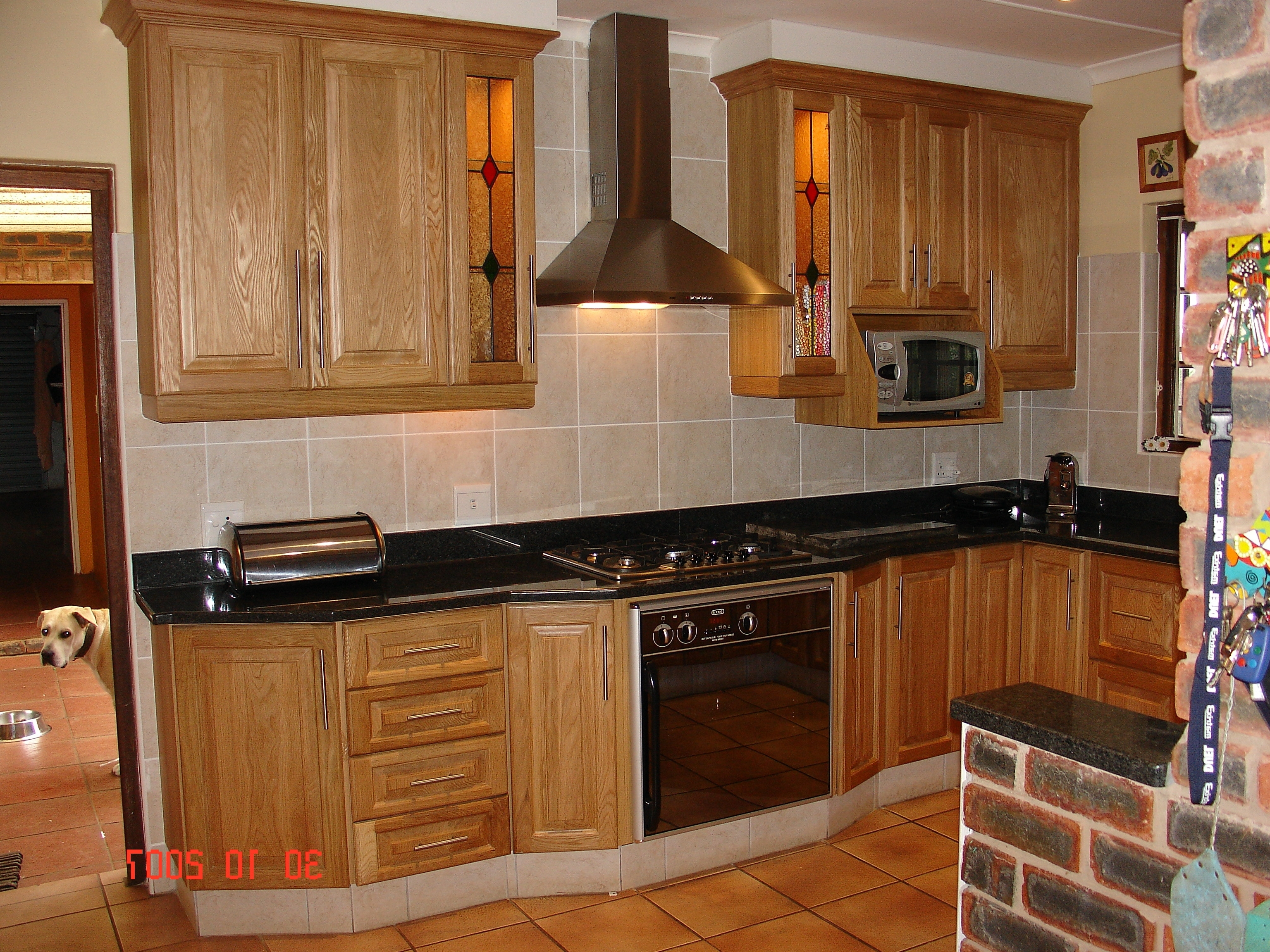 Oak Cupboards Within Favorite Oak Cupboards – Nico's Kitchens (View 11 of 15)