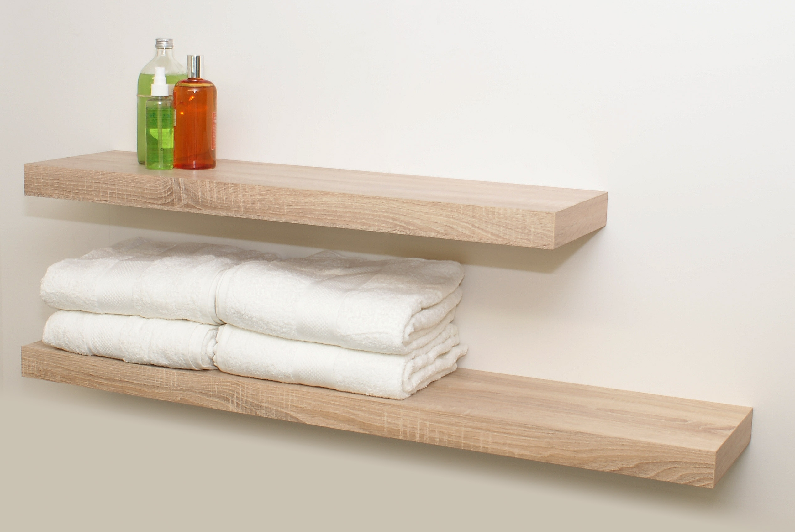 Oak Floating Shelf Kit 1150X250X50Mm – Mastershelf Within Most Up To Date Oak Shelves (View 4 of 15)