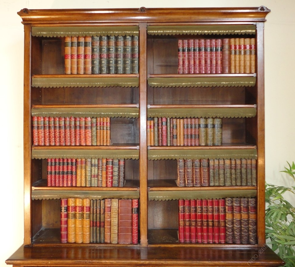 Oak Library Bookcases Intended For 2018 Victorian Gothic Oak Library Bookcase – Antiques Atlas (View 10 of 15)