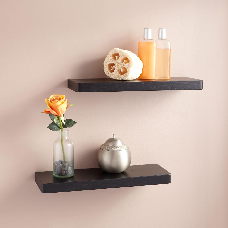 accent view cappuccino wall mount bathroom shelf catalog h product i id en