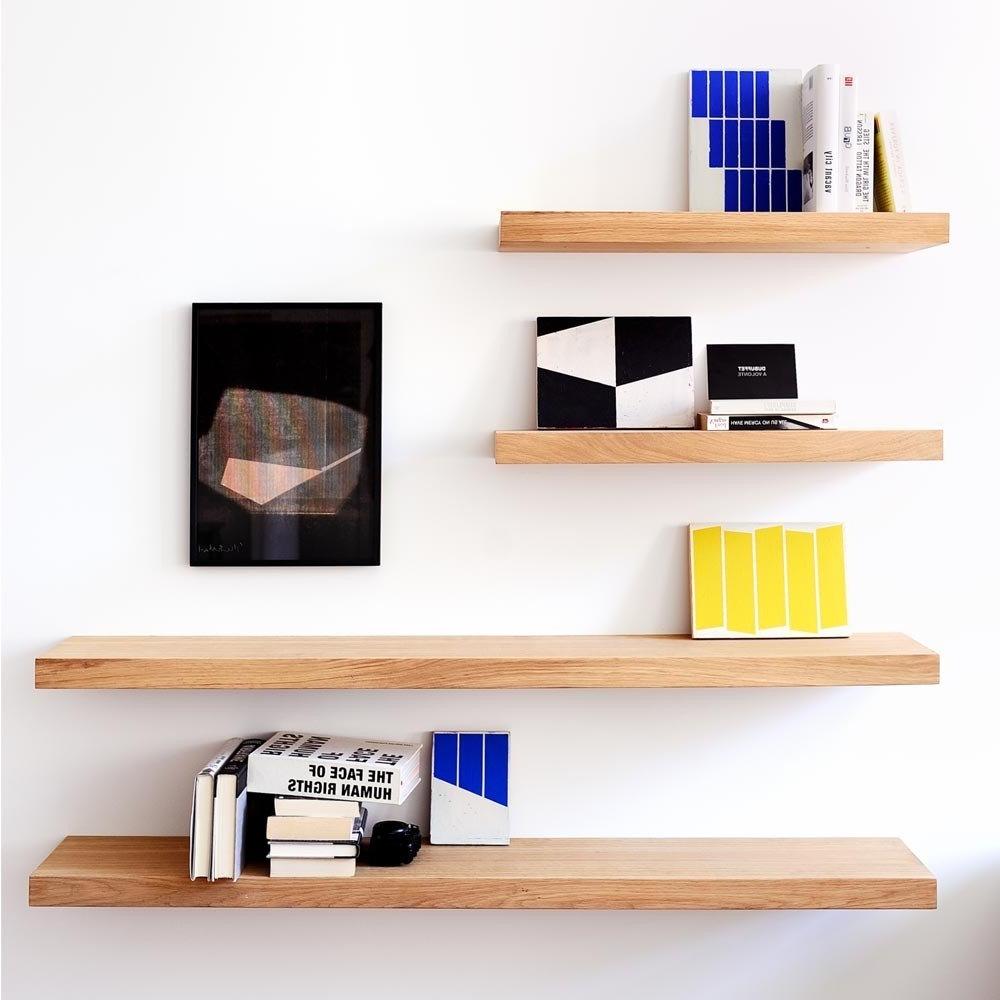 Oak Wall Shelf (View 3 of 15)
