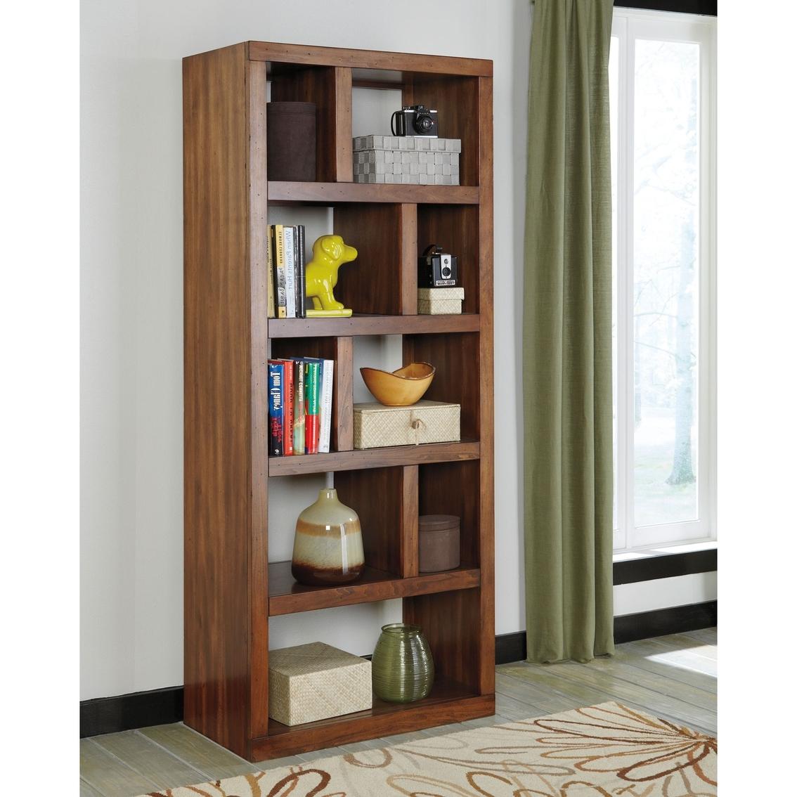 Office Bookcases Regarding Newest Signature Designashley Lobink Home Office Bookcase (View 5 of 15)