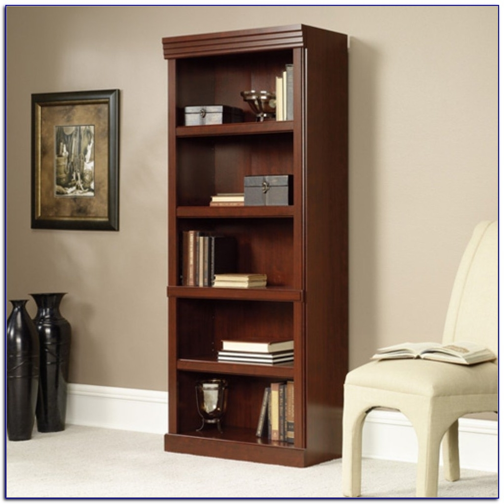 sauder bookcase oak bookcases office info cherry bookshelf cube symbianology magellan depot fice white