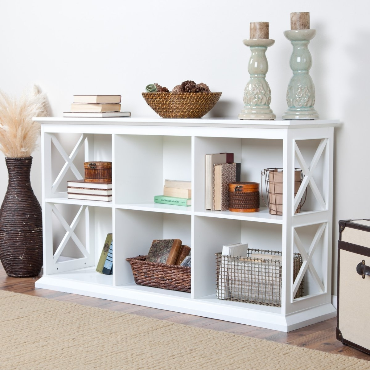 Office Throughout White Wood Bookcases (View 8 of 15)