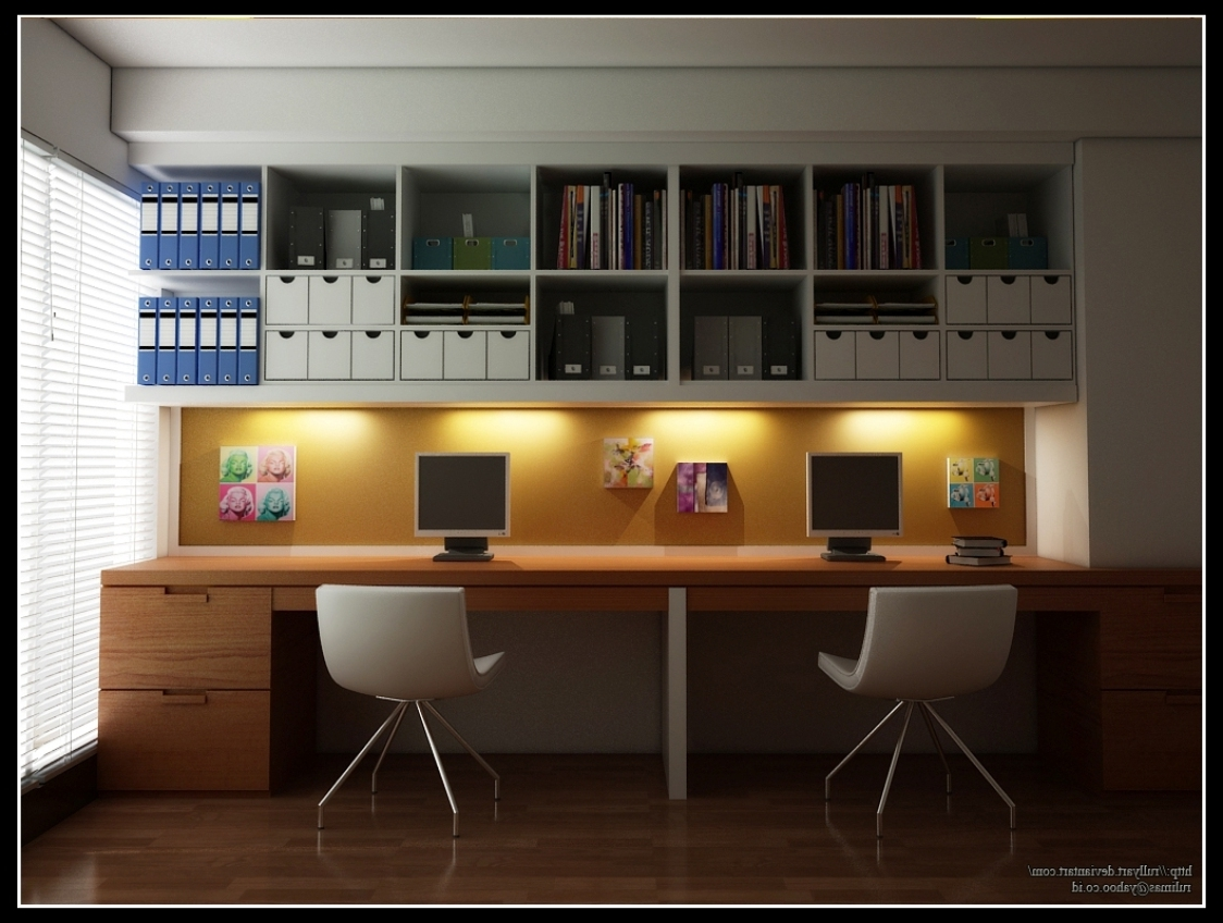 Office Wall Cupboards Inside Most Recent Ideas For Home Office – Vitlt (View 14 of 15)