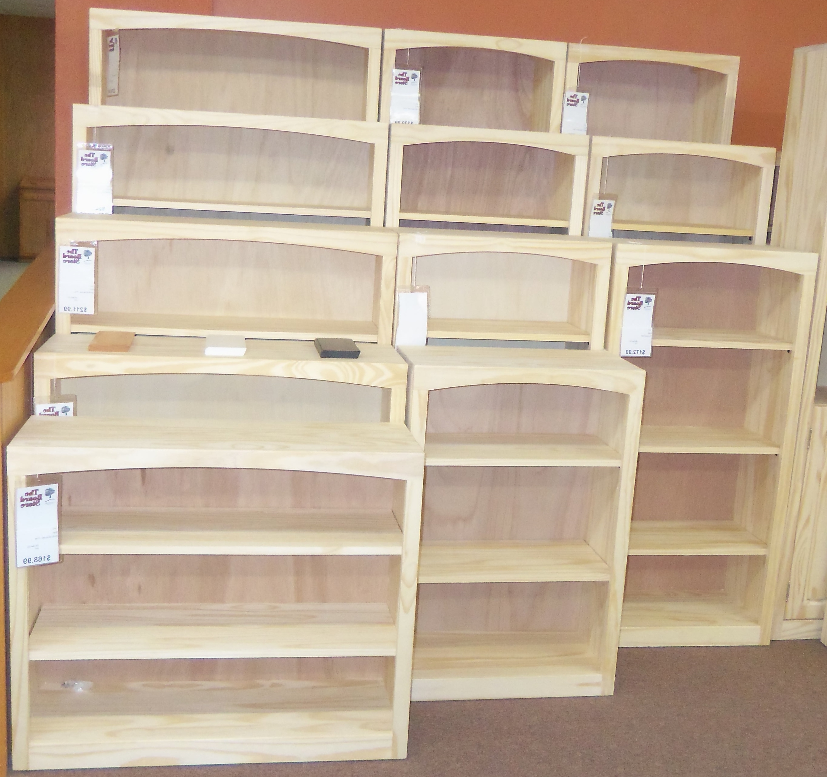 Featured Photo of Unfinished Bookcases