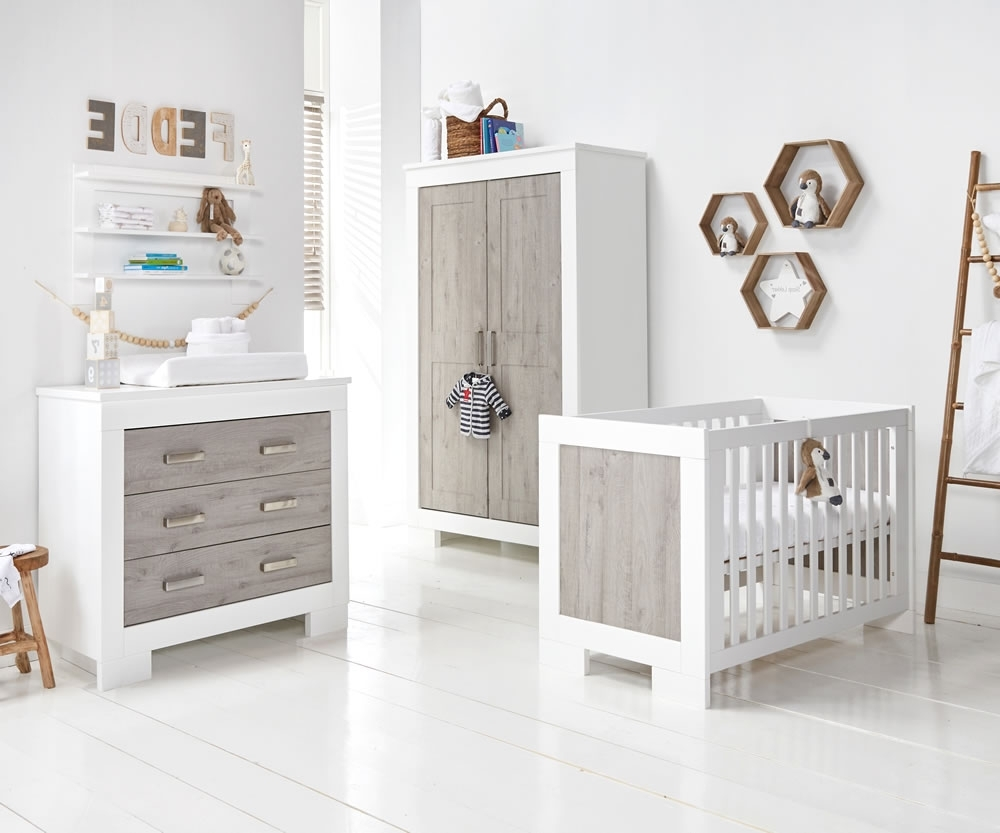Only £999 Delivered In Double Rail Nursery Wardrobes (View 13 of 15)