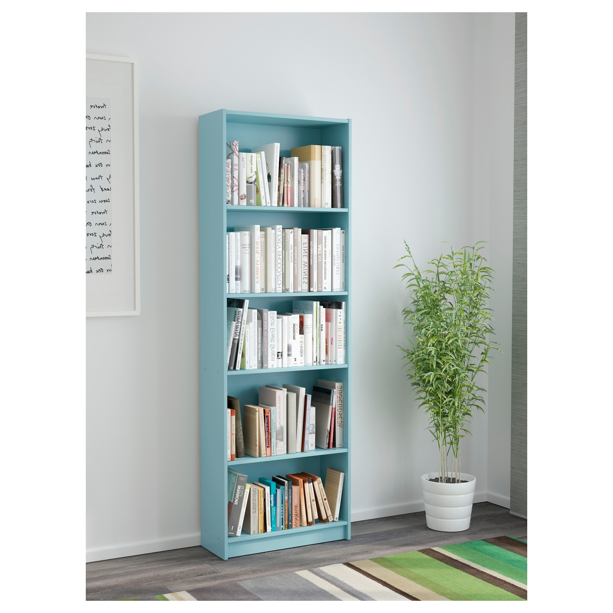 Other Uses For Bookcases Not Just A Housewife Turn Bookshelf Into In Most Popular Blue Bookcases (View 11 of 15)