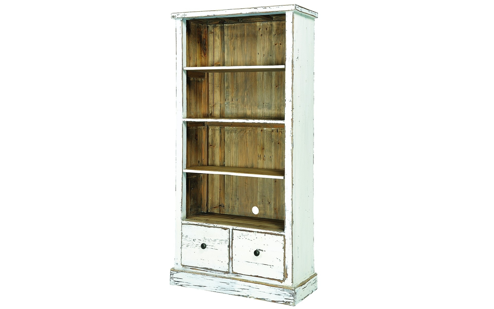 Paint Distressed Bookcase — Doherty House Intended For Widely Used Distressed Wood Bookcases (View 11 of 15)