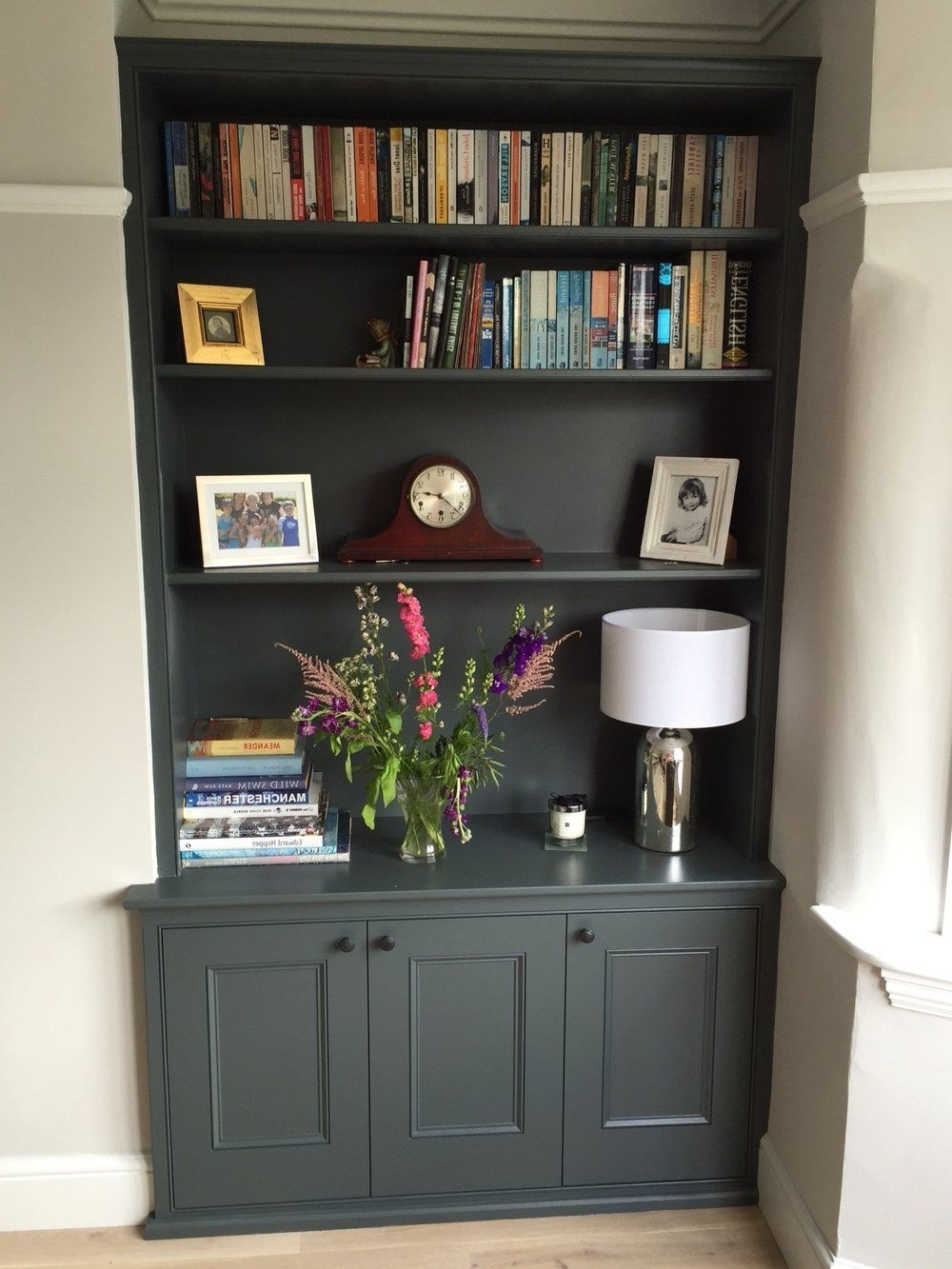 Painted Shelving Units Pertaining To Preferred Bespoke, Hand Built Carpentry, Wardrobes, Alcove Units, Storage (View 8 of 15)