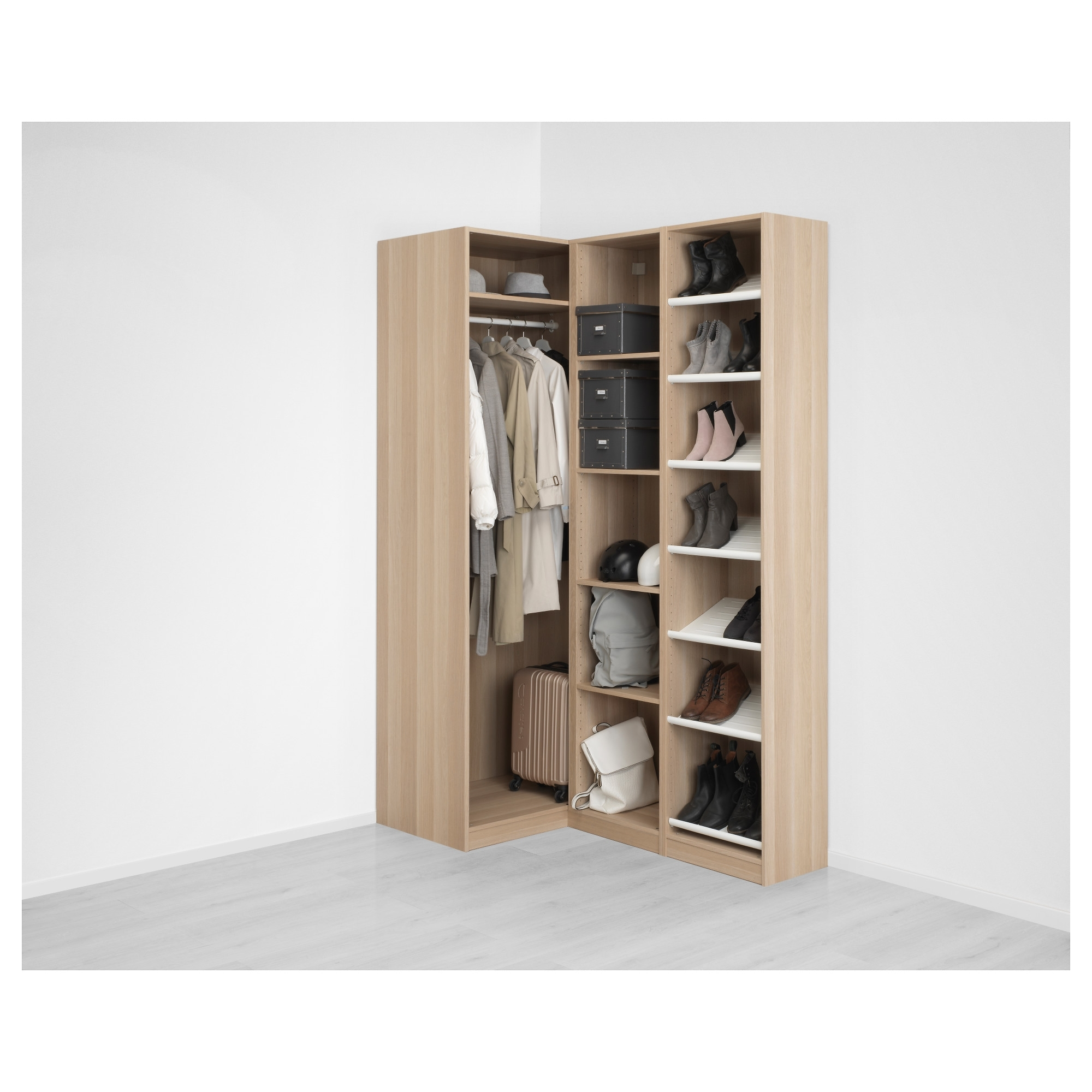 closet decor wardrobe armoire unusual nice with also color decorating simple shelving design ideas cheap bedroom photo