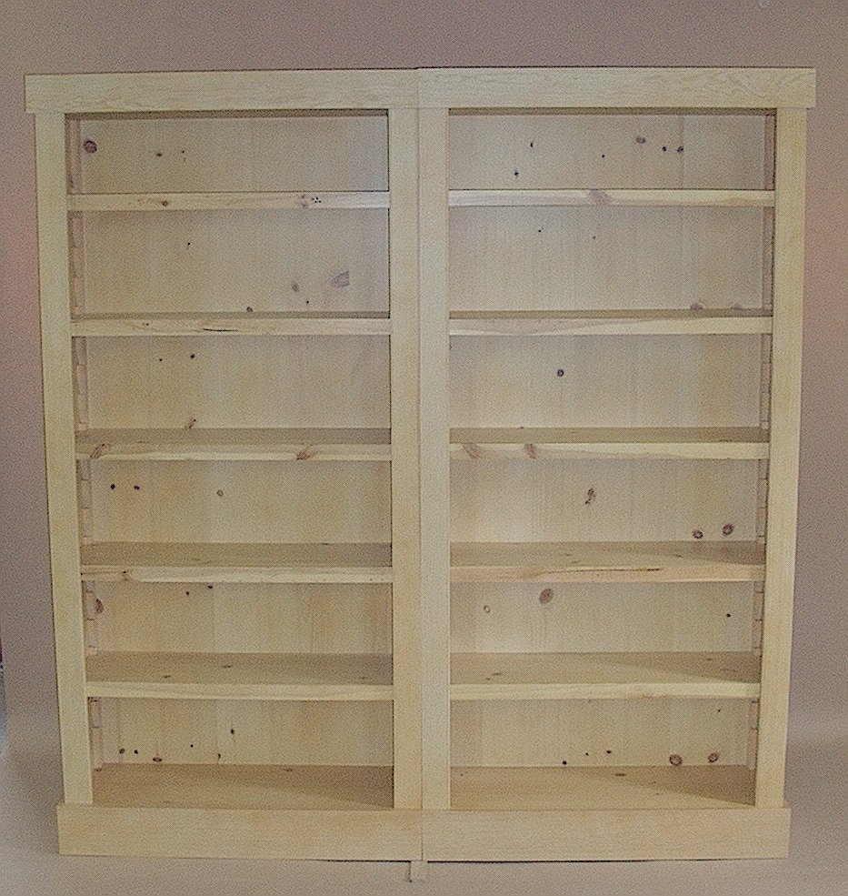 Pine Bookcases In Famous Knotty Pine Bookcase – Expensive Home Office Furniture Check More (View 5 of 15)