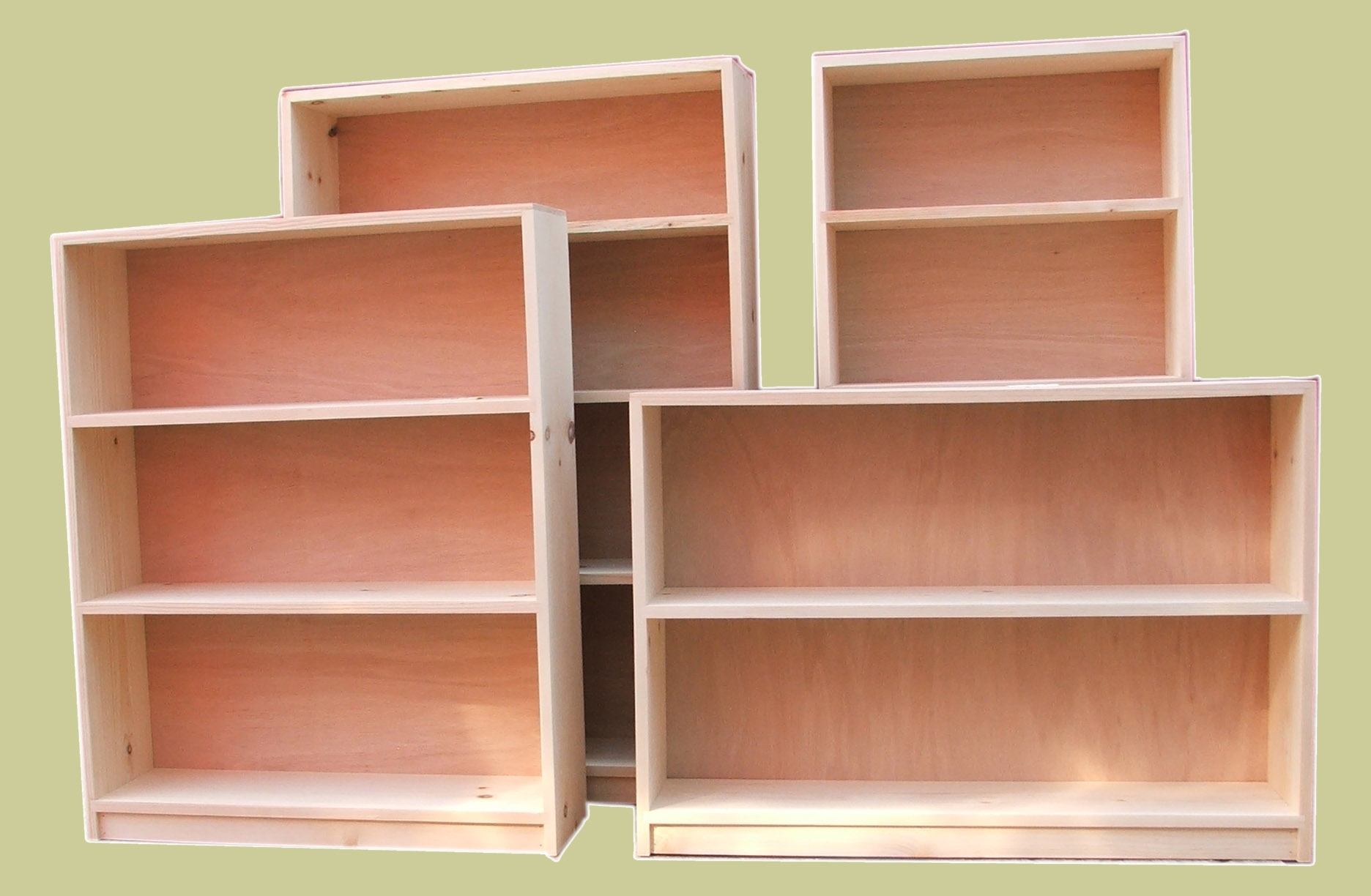 Pine Bookcases Intended For Well Known Pineses Or Bookshelves 14424pinese Plans And Cabinets King Size (View 3 of 15)