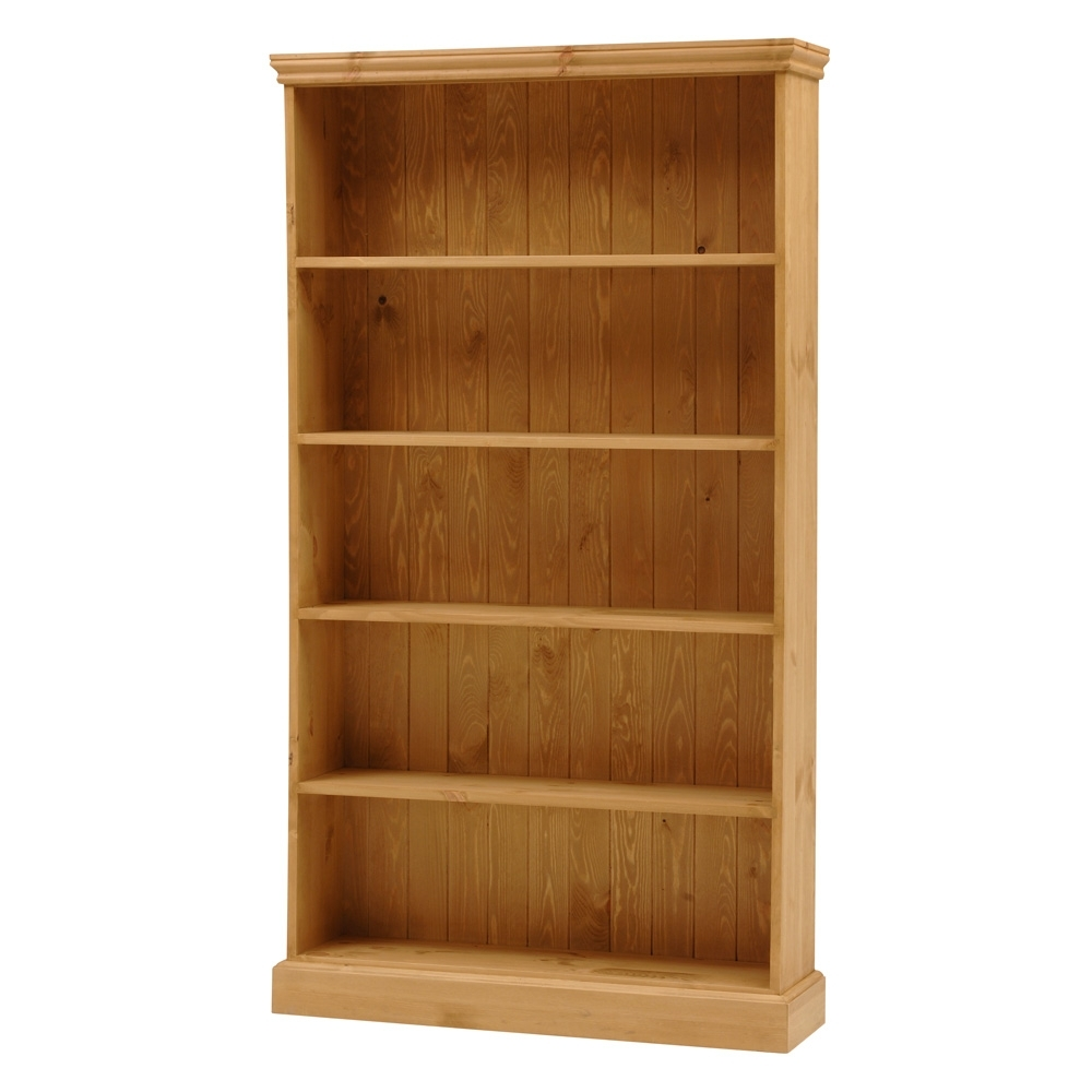 Pine Bookcases Within Most Current Bookcases Pine Oak And Solid Wood Bookcases Pine Solutions Pine (View 2 of 15)