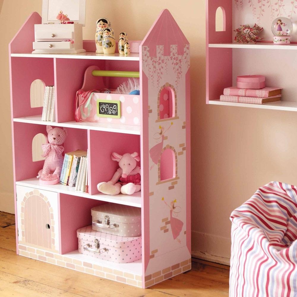 organizer girls bookshelf itm pink toy playroom storage bookcase bins with bedroom