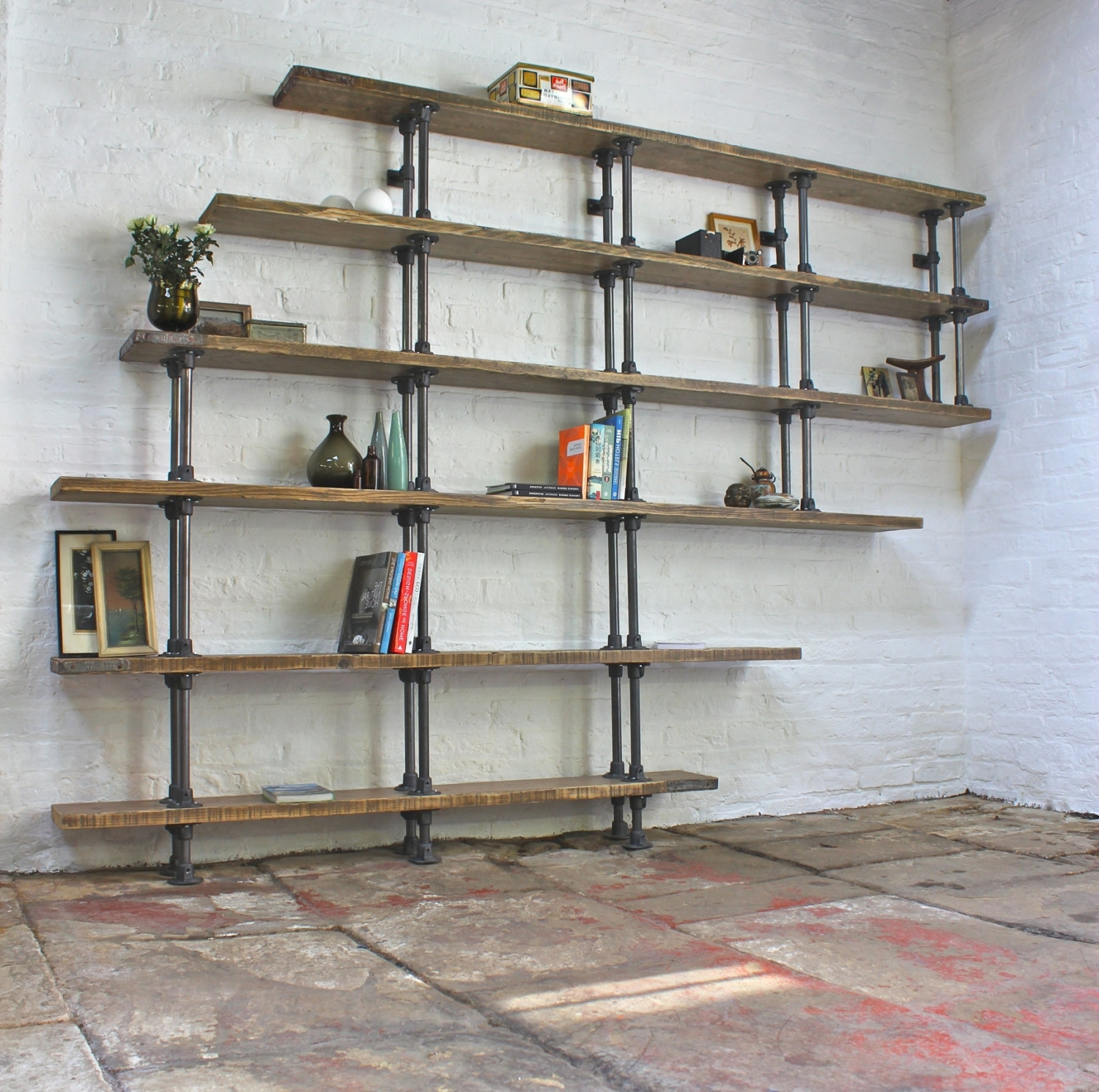 Featured Photo of Pipe Bookcases