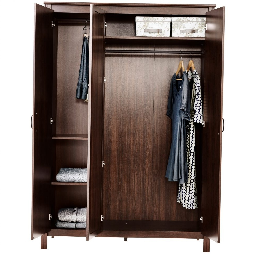 Plastic Wardrobes Box In Trendy Furniture : Home Depot Garment Rack Wardrobe On Wheels Plastic (View 9 of 15)