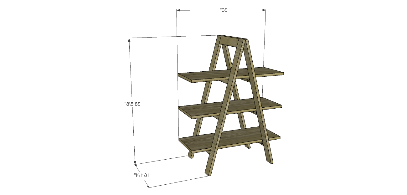 Popular Build A Ladder Bookshelf – Designsstudio C Throughout Diy Bookcases Plans (View 13 of 15)